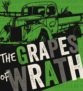 NKU_The Grapes of Wrath logo