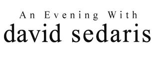 CAA_An Evening with David Sedaris logo