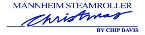 CAA_Mannheim Steamroller Christmas logo