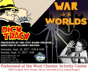 CPTC_Dick Tracy War of the Worlds logo