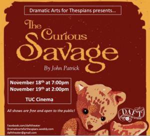 DAFT_Curious Savage logo