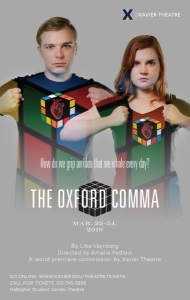 OXFORD COMMA hires poster
