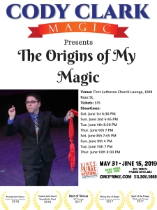 CFF19_Origins of My Magic Poster