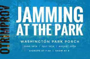 OTRI_Jammin at the Park logo