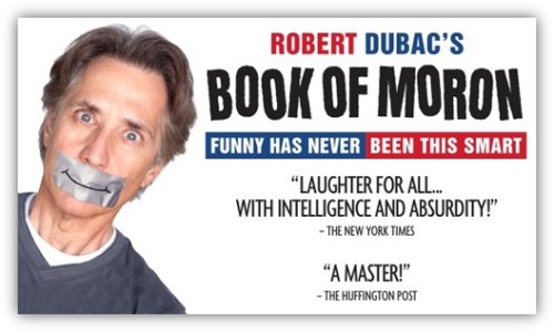 CAA_Book of Moron promo