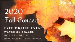 MSC_Fall Concert 2020 logo