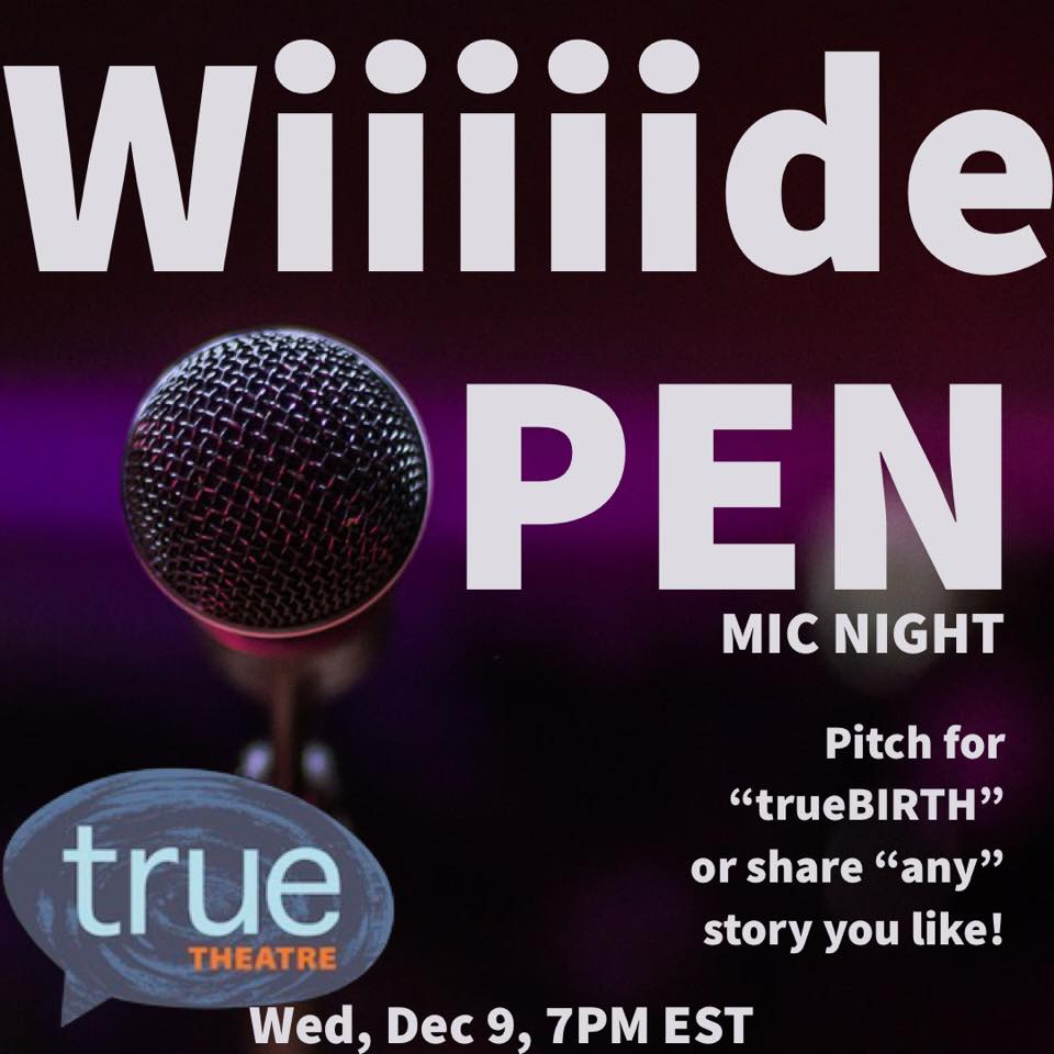 TT_Open Mic trueBIRTH logo