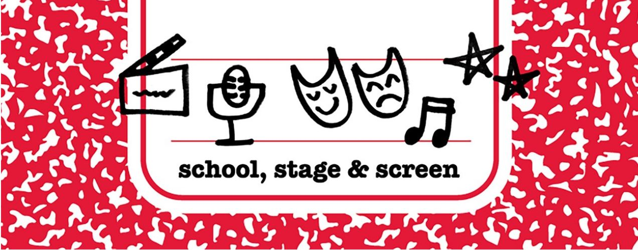CCM_Stage Screen and School logo