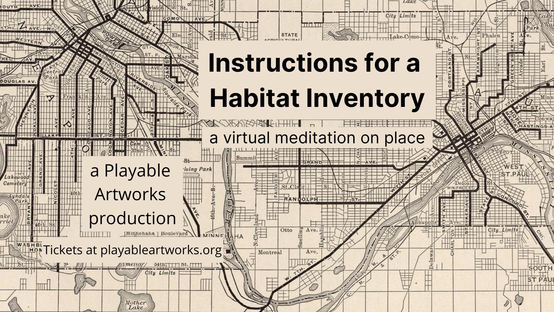CFF21_Instructions for a Habitat Inventory