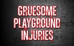 NKU_Gruesome Playground Injuries logo