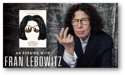 CAA_An Evening with Fran Lebowitz