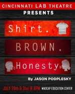 CLT_Shirt Brown Honesty logo2