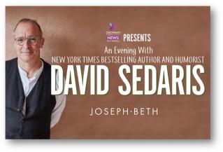 CAA_An Evening with David Sedaris logo