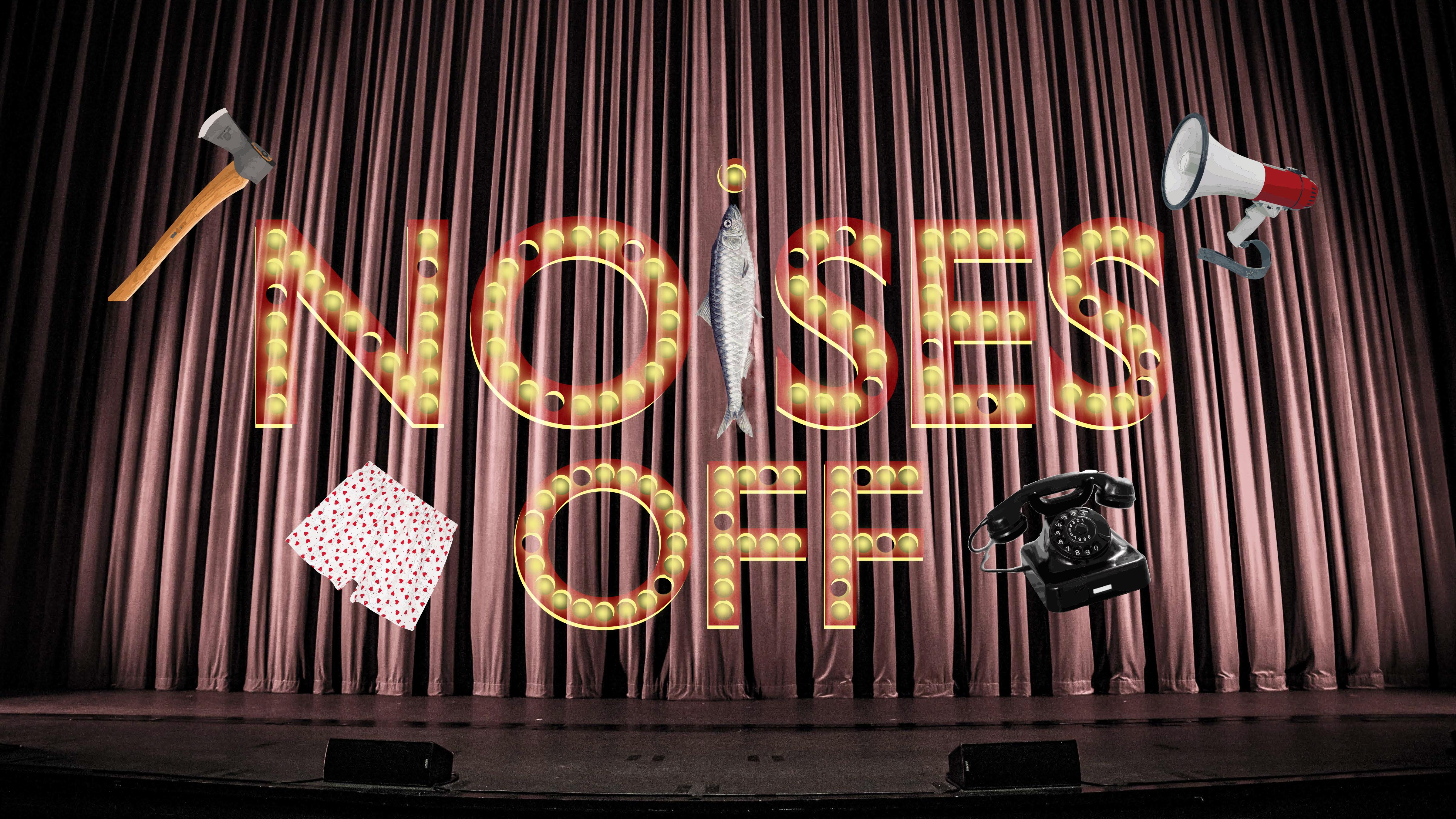 NKU_Noises Off logo